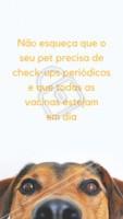 Está na hora do check-up do seu pet? E as vacinas, estão em dia? Traga-o para os nossos especialistas! 👍🏼 #veterinario #vet #pet #ahazouapp #ahazoupet #vacinas #checkup #consulta