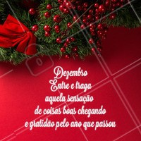 Amo esse mês! 🎅❤️ #dezembro #natal #ahazou #amo #beleza