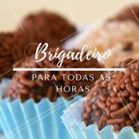 Não importa o momento, o melhor remédio é sempre um brigadeiro ❤️️ #brigadeiro #doces #ahazouapp #loucosporbrigadeiro