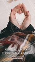 O coração tem que ficar quentinho e a gordura congelada! Agende uma avaliação e conheça o poder da Criolipólise: reduz medidas, congela as gorduras e ainda ajuda na redução da celulite. #criolipolise #ahazou #crio #esteticacorporal
