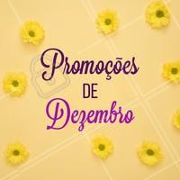 Aproveite as promoções desse mês e agende seu horário! #esteticafacial #ahazou #dezembro #estetica