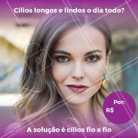 Aproveite essa promoção! Agende seu horário.  #ciliosfioafio #ahazou #alongamentodecilios