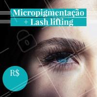 Aproveite essa promoção! Agende seu horário.  #micropigmentação #ahazou #lashlifting