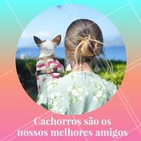 Quer amigo melhor que o seu dog? Não existe, né?! #pet #ahazoupet #amigao #dog