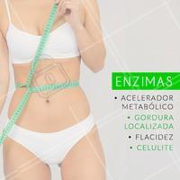As enzimas são substâncias que combinadas terão ação sobre uma queixa estética específica. De acordo com cada necessidade é possivel selecionar as melhores substâncias para o resultado esperado! #esteticacorporal #enzimas #ahazouestetica #ahazou