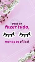 Hahaha sem cílios não da, né meninas? 😂 #cilios #fioafio #ahazouapp #beleza #mulheres