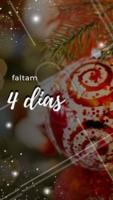 Faltam 4 dias para o Natal! #natal #ahazou #familia #25dedezembro