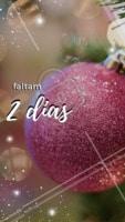 Faltam 2 dias para o Natal! #natal #ahazou #familia #25dedezembro