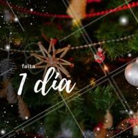 Falta 1 dia para o Natal! #natal #ahazou #familia #25dedezembro