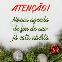 Não deixe para a última hora, agende seu horário para as festas de fim de ano! #ahazou #fimdeanoahz  #natalahz