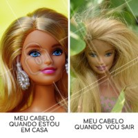 hahaha porque isso sempre acontece?! #cabelo #ahazou #engracado