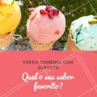 Conta pra gente 🍦🍨🍧 #sorvetes #icecream #ahazouapp #verao