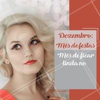 Não perca tempo! Vem arrasar nas festas de fim de ano!  #dezembro #ahazou #beleza