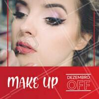 Aproveite as promoções desse mês e agende seu horário! #maquiagem #makeup #ahazou #promoçao