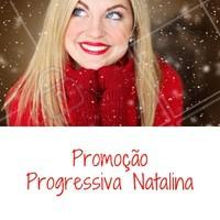 Que tal essa promoção pra você curtir o Natal arrasando com seu novo cabelo? #natal #ahazou #promoçao