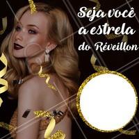 Comece o ano com pé direito, agende seu horário para as festas de fim de ano! #ahazou #reveillon #beleza #estrela