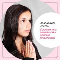 Amooo! 😂😂 #maquiagem #ahazou #make