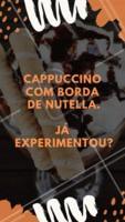M-A-R-A-V-I-L-H-O-S-O! #cappuccino #cafeteria #ahazouapp #docedeleite