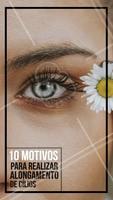 1- Diga adeus ao rímel 2- Cílios postiços nunca mais 3- Realce sua beleza natural 4- Economize tempo no dia a dia 5- Deixe sua autoestima nas nuvens 6- Acorde pronta todos os dias 7- Dê uma levantada no seu olhar 8- Disfarça imperfeições e falhas 9- Valorize ainda mais a maquiagem 10- Prepare-se para os elogios Está esperando o que para agendar seu horário? #cilios #alongamentodecilios #ahazouapp #beleza #mulheres