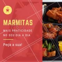 Peça já a sua! ☎️ XXXXXX #marmitas #ahazou #saude