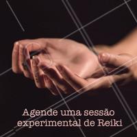 Os benefícios do Reiki são milhares, e é uma técnica cada vez mais procurada pelas pessoas. Agende uma sessão experimental com a gente! #reiki #sessao #terapiasalternativas #ahazouapp #cura #energia #bemestar