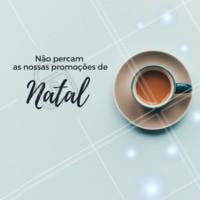 Visite nosso café e aproveite nossas promoções de fim de ano! #promocao #cafeteria #ahazouapp #natal