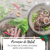 Não perca essa promoção natalina! Todo mundo AMA uma sobremesa! #promocao #sobremesa #ahazouapp #natal