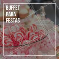 Precisando de um Buffet para a sua festa? Temos diversas opções. Entre em contato! #evento #ahazouapp #festa #buffet
