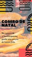 Não perca nosso combo natalino! Venha curtir o final de ano com a gente 🍔🍔 #promocao #hamburguer #ahazouapp #natal #hamburgueria