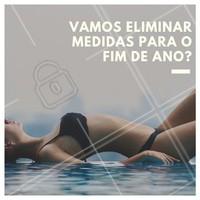 Agora é a hora! Elimine medidas com os tratamentos específicos para o seu corpo. Agende uma avaliação! #esteticacorporal #ahazou #fimdeano