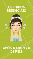 As primeiras 48h após a limpeza de pele é considerado o tempo de recuperação. Olha só as dicas:  💆 Usar dermocosméticos com propriedades calmantes e cicatrizantes, como a água termal  💆 Evitar exposição solar e aplicar sempre o protetor solar 💆 Não use esfoliantes físicos na primeira semana e consulte sua esteticista sobre o uso de ácidos 💆 A maquiagem está liberada, mas deve ser retirada completamente.  #esteticafacial #ahazou #limpezadepele #cuidadoscomapele