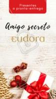 Procurando um presente especial de amigo secreto? Que tal presentear com produtos Eudora? Temos a pronta entrega. Entre em contato para saber mais! #eudora #ahazou #revendedoras #natal #presentes