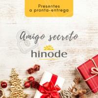 Procurando um presente especial de amigo secreto? Que tal presentear com produtos Hinode? Temos a pronta entrega. Entre em contato para saber mais! #hinode #ahazou #revendedoras #natal #presentes