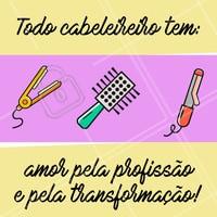 Adoro ver a transformação acontecer através das minhas mãos. 🙏  #cabeleireiro #ahazou #motivacional