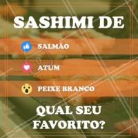 Conta pra gente! #sashimi #salmao #ahazouapp #atum #peixebranco #japones