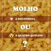 Queremos saber qual o seu preferido. Conte pra gente! #massas #food #ahazouapp #gastronomia #molhos