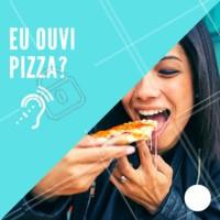 P-I-Z-Z-A 🍕❤️️ Não existe nada melhor! #pizza #pizzaria #ahazou #delivery #delicia