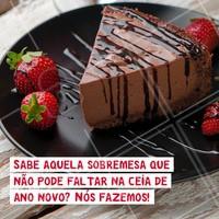 Escolha a sua sobremesa favorita e encomende já! ☎ XXXXX #natal #sobremesa #encomendas