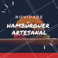 Você vai querer devorá-lo! 🍔 #hamburguer #hamburgueria #ahazou #loucosporhamburguer #burger #hamburguerartesanal