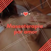 Com amor e por amor ❤️️💆 #massoterapia #massoterapeuta #ahazouapp #massagem #saude #bemestar