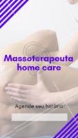 Para maior conforto, ofereço meu serviço de massoterapeuta na sua casa! #massagem #massoterapeuta #ahazouapp #terapiasalternativas #secuide