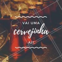 Junte os amigos, o mozão, a família, e vem tomar uma com a gente! 🍻  #bar #boteco #ahazou #cerveja