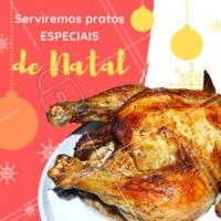 Dezembro chegou e já estamos pensamento nos pratos tradicionais de Natal 🎄 Venha saborear um delicioso almoço especial aqui no XXXX #natal #restaurantes #ahazou #pratostipicos #chester #peru #almocodenatal
