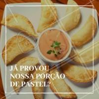 Ainda não? Então corre pra cá! Nossa porção de pastel mista (carne, queijo e palmito) é uma das mais pedidas da casa. #pastel #porcao #ahazou #bar #boteco