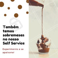 Você vai se apaixonar! 😍  Todos os dias opções diferentes de sobremesas. #restaurante #selfservice #ahazou #porquilo #sobremesa