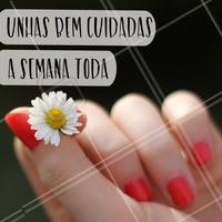 Tem mimo melhor que esse? 💅 #manicure #ahazou #unhas