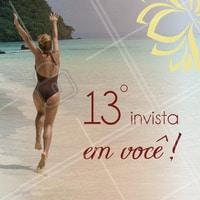 Invista seu 13° em VOCÊ! Fique ainda mais linda para 2019. #BemEstar  #Estetica #Flacidez  #ahazou