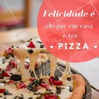 Pizza quentinha é tudo o que queremos agora! 🍕 #pizza #pizzaria #ahazou #delivery #delicia