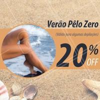 Porque cuidar da pele também é essencial! Aproveite nosso desconto exclusivo de 20% em algumas depilações.  AGENDE SEU HORÁRIO #ahazou #depilacao #verao