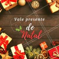 Presenteie quem você ama com os nossos vales presentes! 😍 #valepresente #ahazou #presente #natal